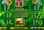 tabella vincite slot machine irish luck